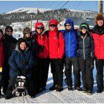 2013-Iditarod-Finish-Northern-Lights-Tour-Group-Picture-Elim-c-Laurent-Dick-Wild-Alaska-Travel