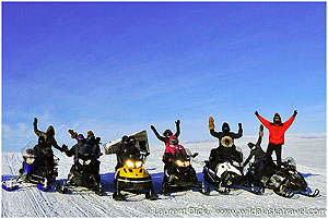 Day-5-Iditarod-Finish-Tour-Snowmachine-Iditarod-Safety-checkpoint-Photo-c-Laurent-Dick-Wild-Alaska-Travel