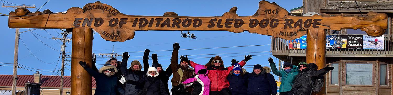 Iditarod Finish & Northern Lights Tour