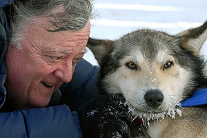 Larry-Feeney-Testimonial-Iditarod-Finish-Northern-Lights-Tour