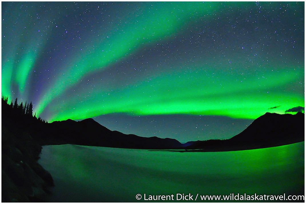 Northern Lights over the North Fork Koyukuk River