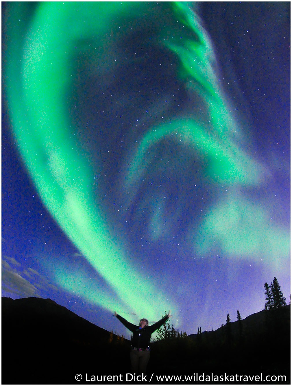 Experience the magical northern lights