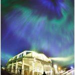 Northern-Lights-over-Dredge-7-Inn-Nome-Alaska-Photo-c-Laurent-Dick-Wild-Alaska-Travel