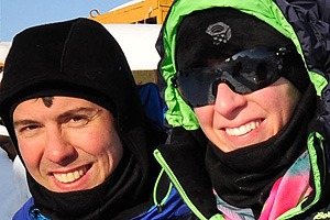 Thomans-and-Sara-McElroy-Testimonial-Iditarod-Finish-Northern-Lights-Tour