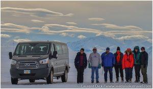 Wild Alaska Travel guests along the Dalton HIghway